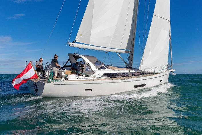 ØSTERRIKE: Sunbeam 46.1 er en blanding av nordeuropeisk kvalitet og søreuropeisk design.