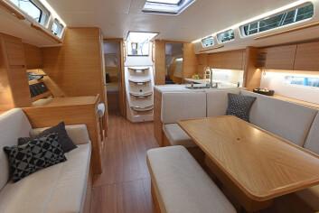EUROPEISK: X-Yachts har løftet stilen under dekk, og blitt med europeisk.