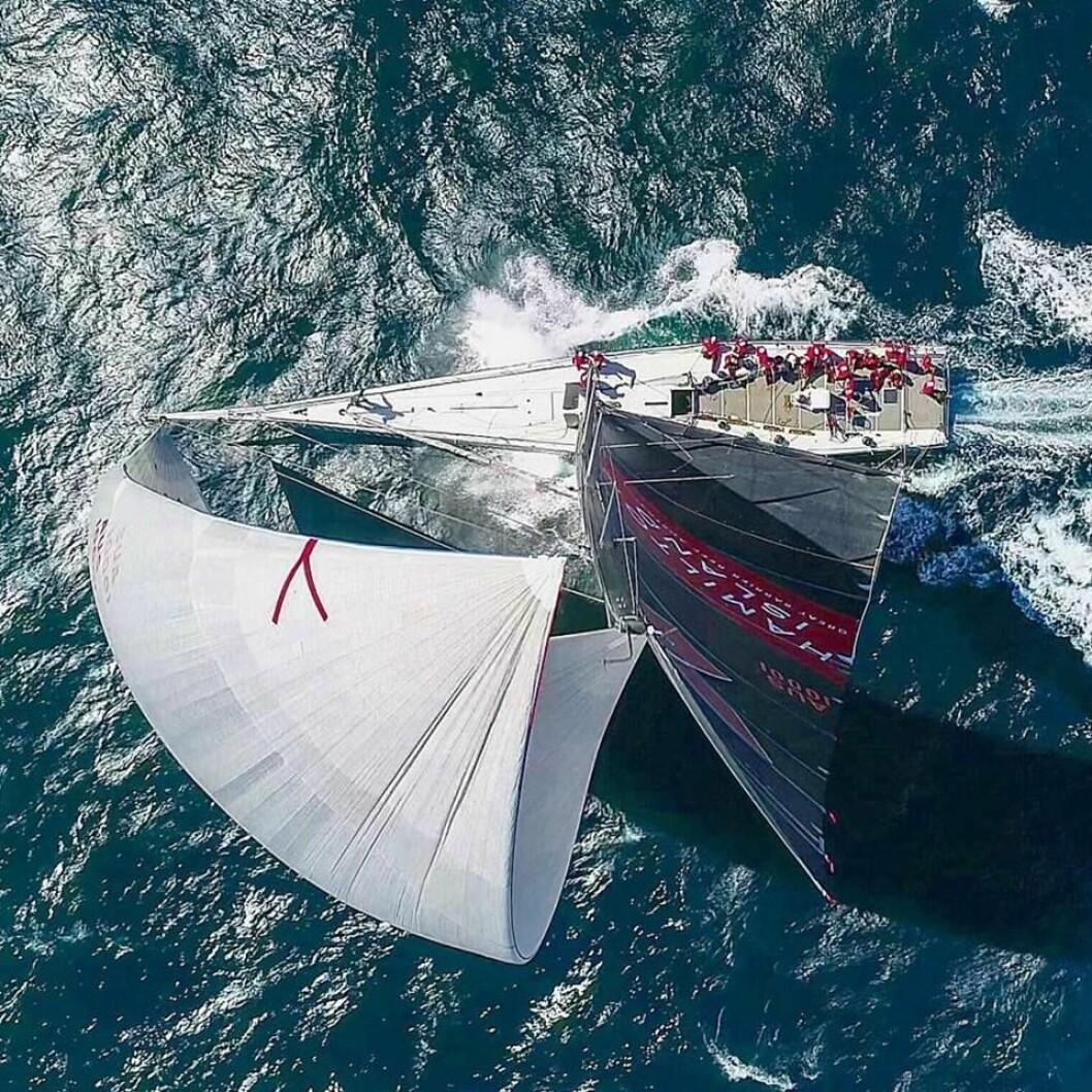 LANGSMAL: «Wild Oats XI» kan ta sin 8. seier i Sydney Hobart Race