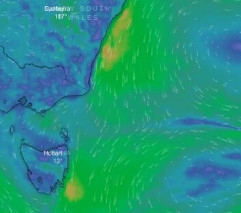 LENS: Vinden skal holde seg fra nord hele veien, men øker.