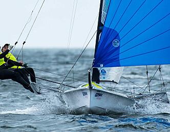 Ni seilere er norske OL-håp