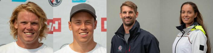 UTFORDRER-LANDSLAG: Thomas og Mads Mathisen, og Mathias Mollatt og Tiril Bue utgjør utfordrerlandslaget.