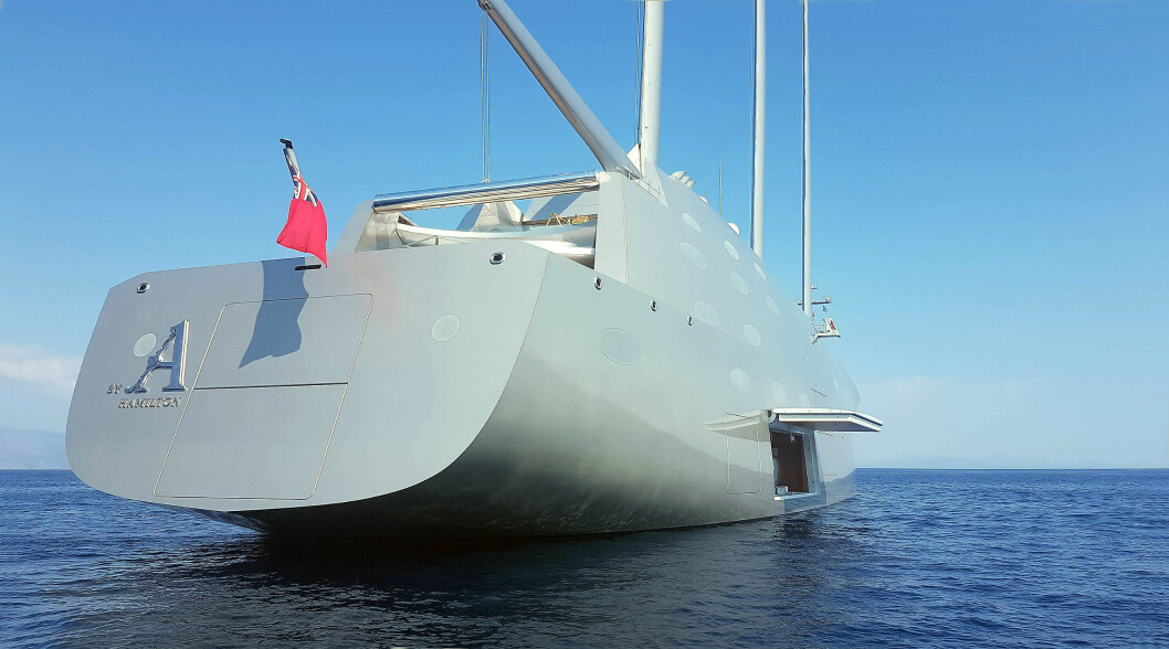 STØRST: «Sailing Yacht A» er verdens største yacht med master, men seilene er kun ment for å redusere forbruket.