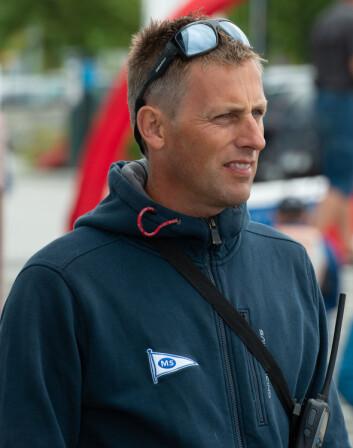 FOR UNGDOM: Geir Oterhals håper å rekruttere mange ungdommer til sommerens ligaseiling i Molde.