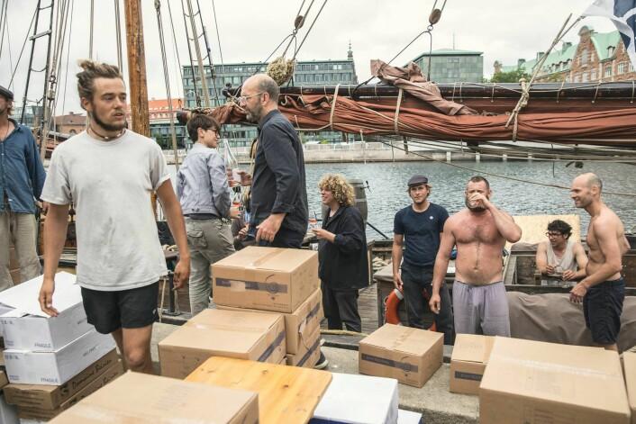 IDEALISME: Fairtransport frakter varer med seilskip. Alt foregår på tradisjonell måte.