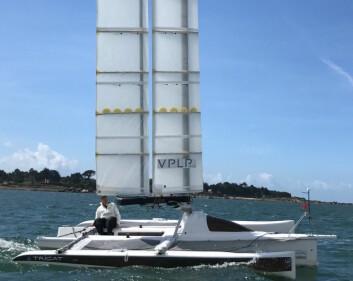 VINGMAST: Oceanwings er utviklet av VPLP, og er snart å se i full størrelse.