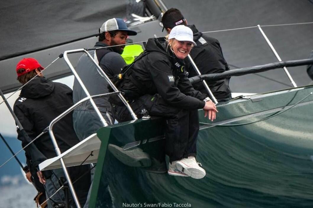 Silje Brathagen With blir først ut i North Sails/Seilmagasinets foredragsserie
