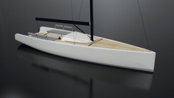 ELEGANT: B27 fra B-Yachts blir et elegant smykke.