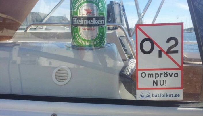 MOTSTAND: Det er en del motstand mot den strenge alkoholloven på sjøen i Sverige.