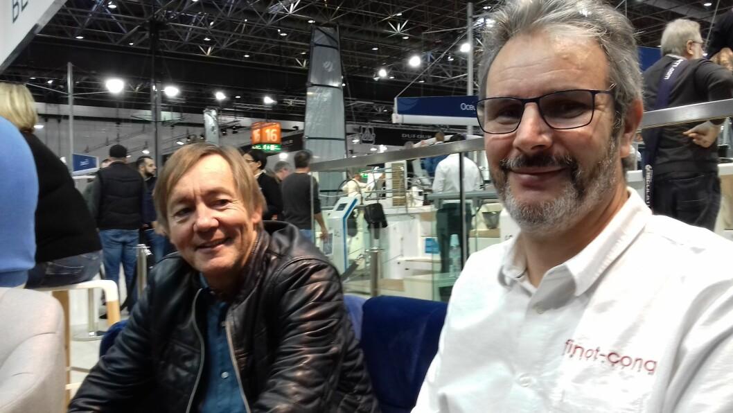 Pascal Conq og David de Prémorel