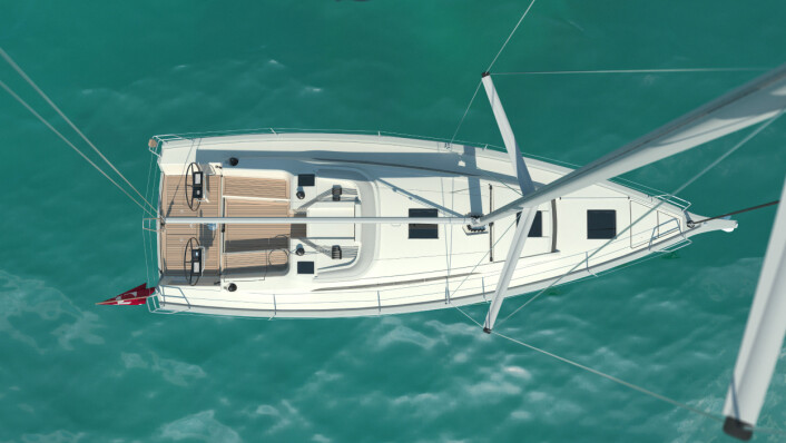 VINSJER: Båten had fire vinsjer med fallvinsjene på hyttedekk.