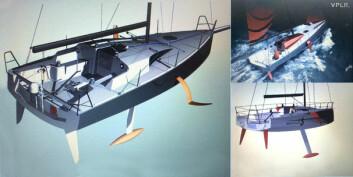 FORSLAG: Tre ulike konsepter er med i vurderingen av en ny Figaro-båt for 2019.