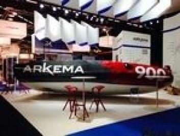 GRØNN: Arkema 3 er bygget med et miljøvennelig bindemiddel som kan erstatte epoxy eller polyseter.