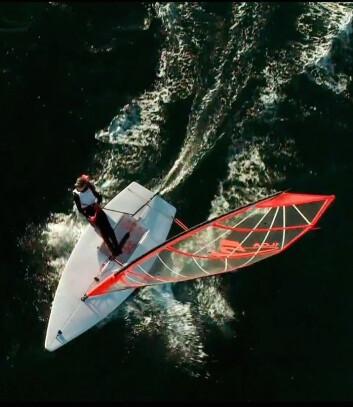 FORM: Et fatheadseil tvister ut toppen på kryss i mye vind og har et automatisk rev. På rom kurs gir økt areal mer krefter.