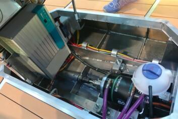 STRØM: Alle dagseiler har nå elmotor. I denne koster det ikke noe mer.
