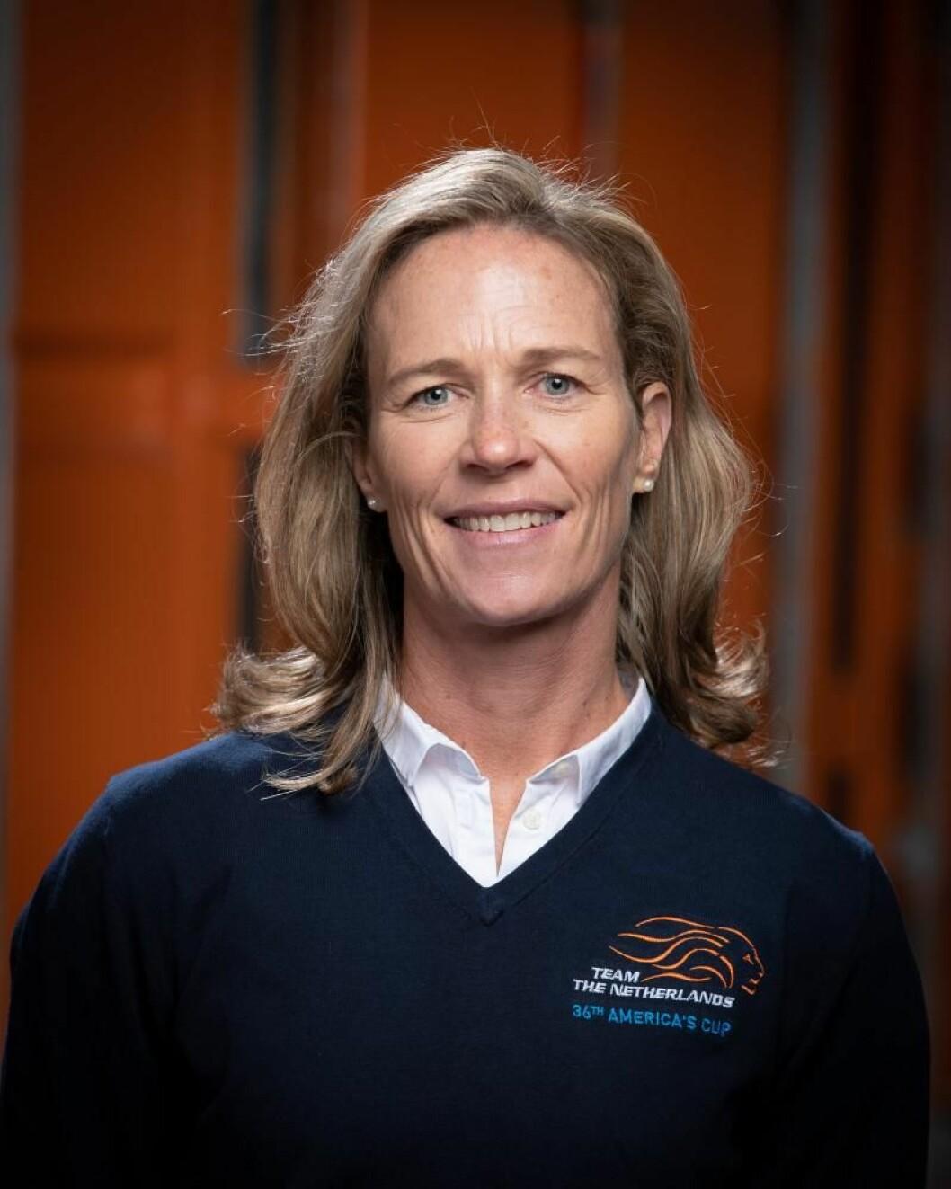 Carolijn Brouwer, første kvinnelig vinner av Volvo Ocean Race