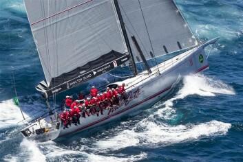 NY: «Wild Oats XI» har dominert Sydney Hobart Race siden 2005. I år er den kraftig ombygget. Bildet er tatt før ombyggingen.