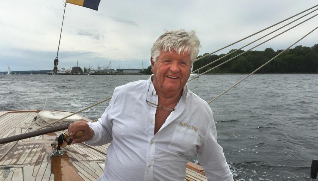 FIRE OL-DETAGELSER: Peder Lunde jr. er en av Norges største seilerolympiere og en av få som har vunnet to medaljer; i 1960 (Flying Dutchman) og 1968 (Star). Han deltok også i 1972 (Tempest) og i 1976 (Soling).
