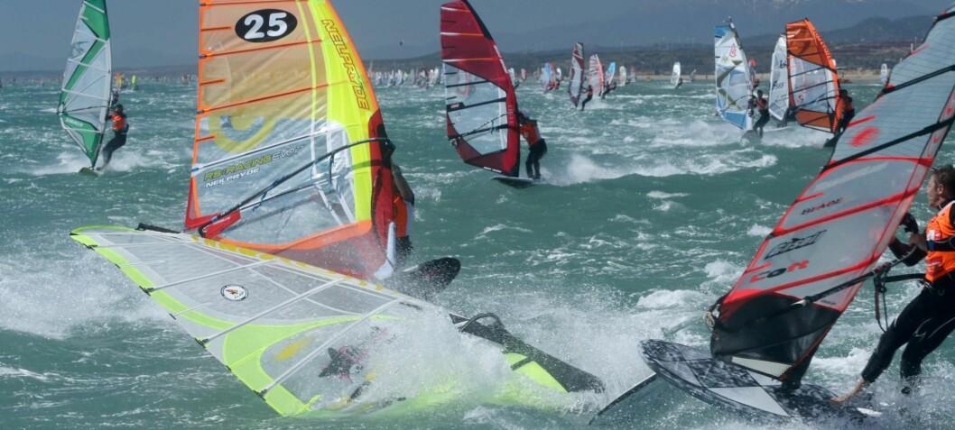 Verdensmesterne samles i rekordstor regatta