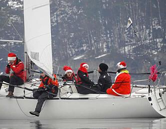 Vinterseilere i Bundefjorden