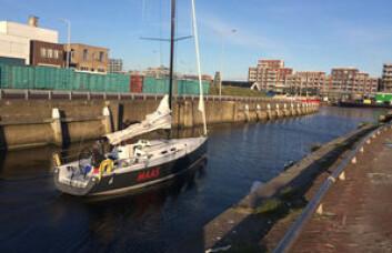 PÅ VEI: «Clockaid» seiler mot Norge i slutten av mai for å delta i Færdern.