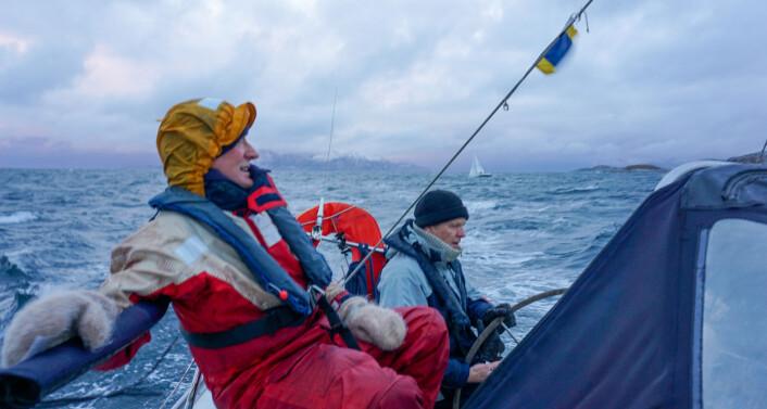 VOTTER: Ekte «sjyvotter» er gode å ha i «Sjyvotten»-regattaen.