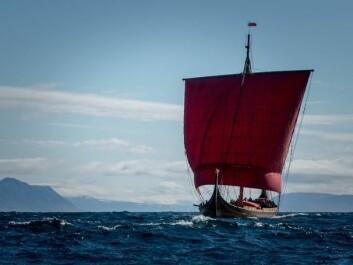 VINLAND: Skipet er forventet ankomst til St Antony på New Foundland 1. juni.