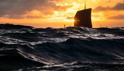 «Harald Hårfagre» på vei til New Foundland