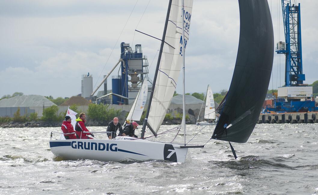 PREMIERE: Grundig Sailing Cup avvikler sitt første stevne i Oslo kommende weekend.