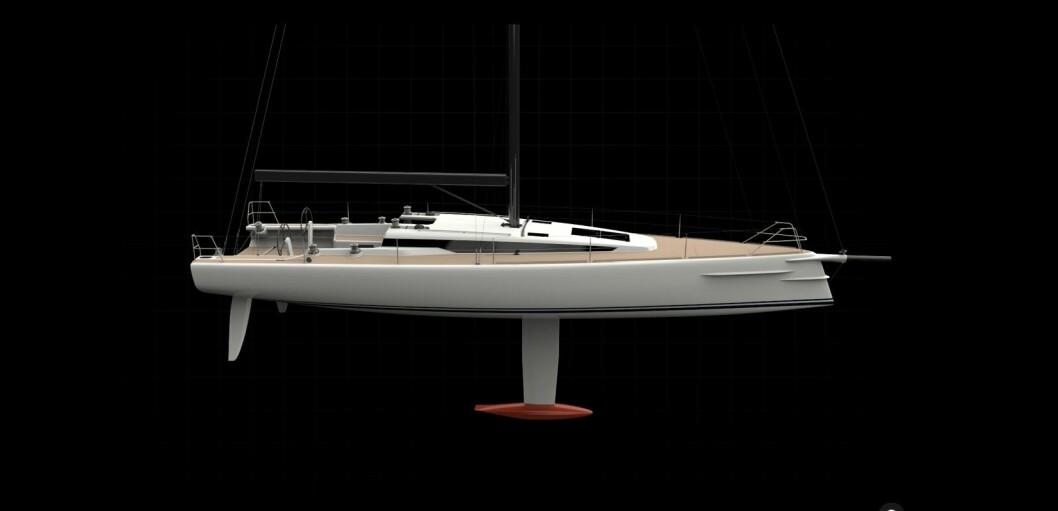SHOGUN50: Håkon Södergren har konstruert en 50-foter som skal bygges av Rosättra Båtvarv AB i karbon.