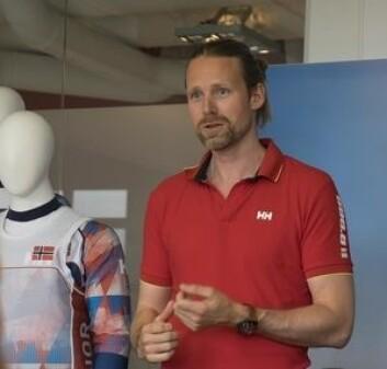 HELLY HANSEN: Øyvind Vedvik er sjef for utviklingen av seil- og skiklær hos Helly Hansen.
