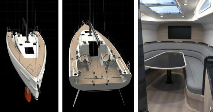 KUL: Shogun 50 skal fungere både for tur og regatta. Med opptrekkbar kjøl er det mulig å seile i den grunne skjærgården utenfor Stockholm.