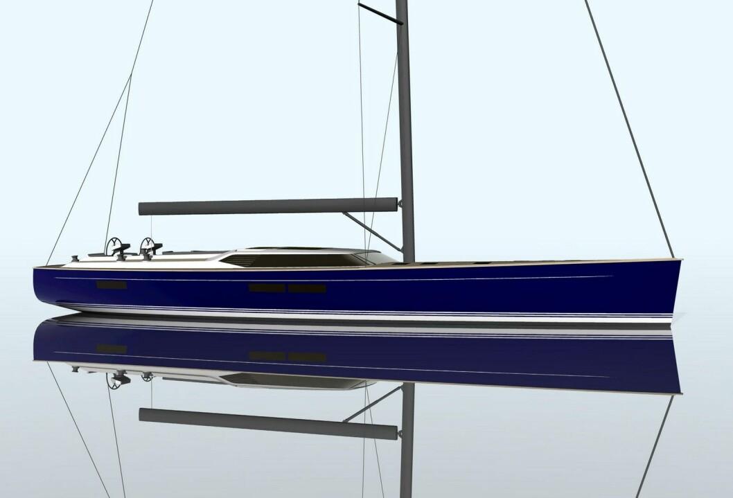 CONTEST 84 CS: det nye flaggskipet til Contest Yachts på 84 fot skal etter planen seile i 2018.