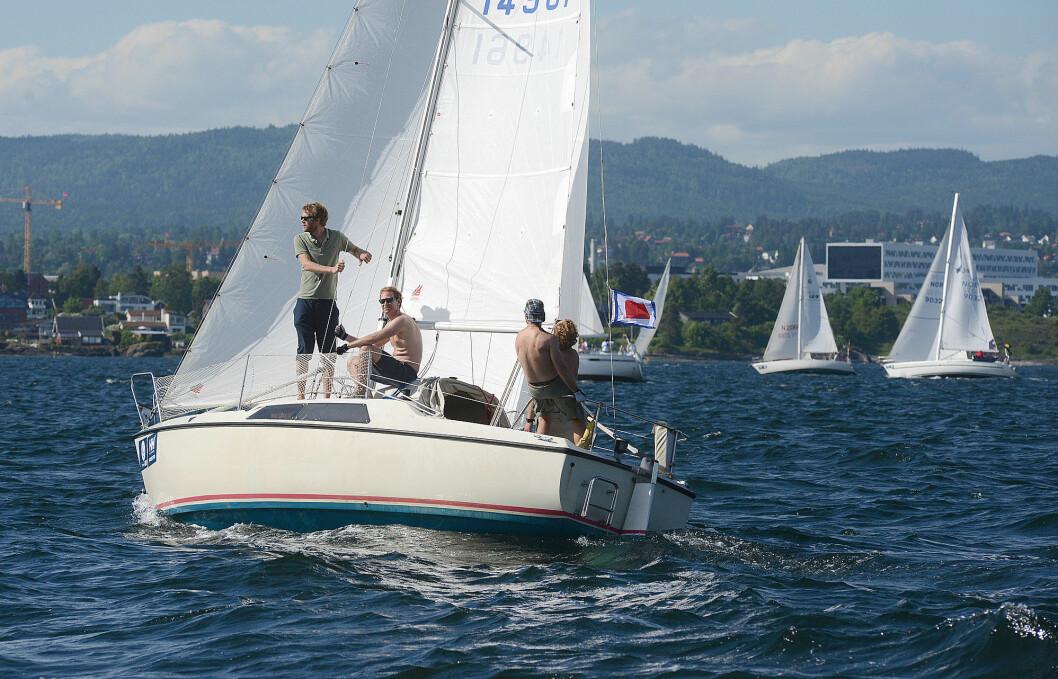 TURGLEDE: Mange vil seile Færder'n, men ikke alle vil konkurrere. TurGlede-klassen har fått overraskende mange deltagere.