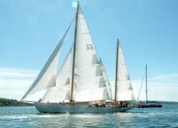 STØRST: «Mohawk 2» er 112 år og er både Færderns lengste og eldste båt.