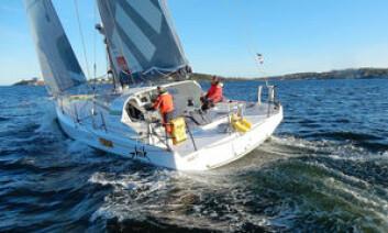 RASK: «Solo2» kan bli første båt til Færder om vindprognosen slår til.