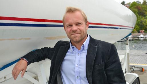 Norges Idrettsforbund med skylapper
