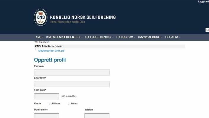 SYSTEM: Generalsekretær i KNS, Anders Kristensen, er kritisk til NIFs pålegg om bruk av medlemssystem.