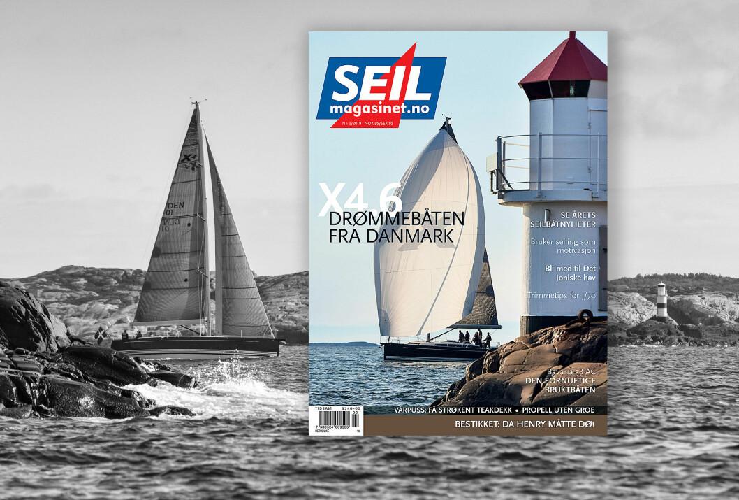 BLAD: SEILmagasinet 2-2019 er ferdig trykket, og på vei ut i ulike kanaler.