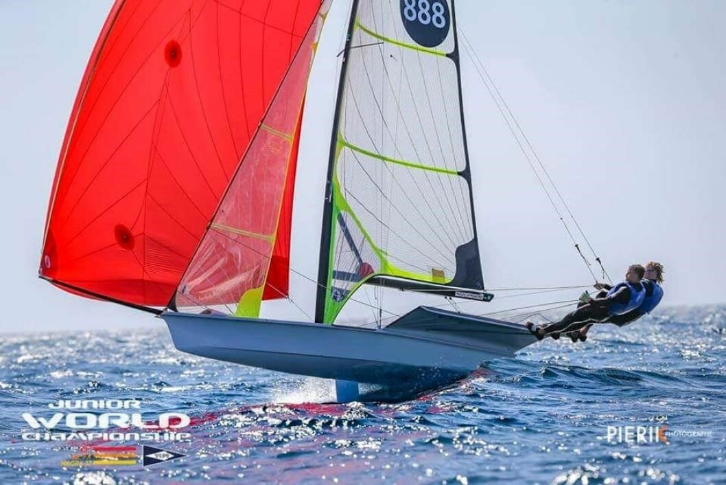 Mads og Tomas Mathisen på Mallorca