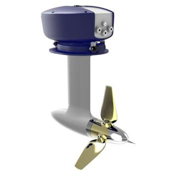 GENERATOR: Oceanvolts effektive system skal generere 1,5 kW i bare fem knop.