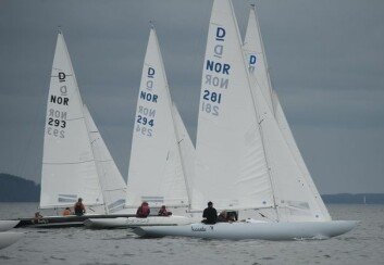 DRAKE: NOR 281 med Steinar Basberg somn skipper tok seieren i Drake.