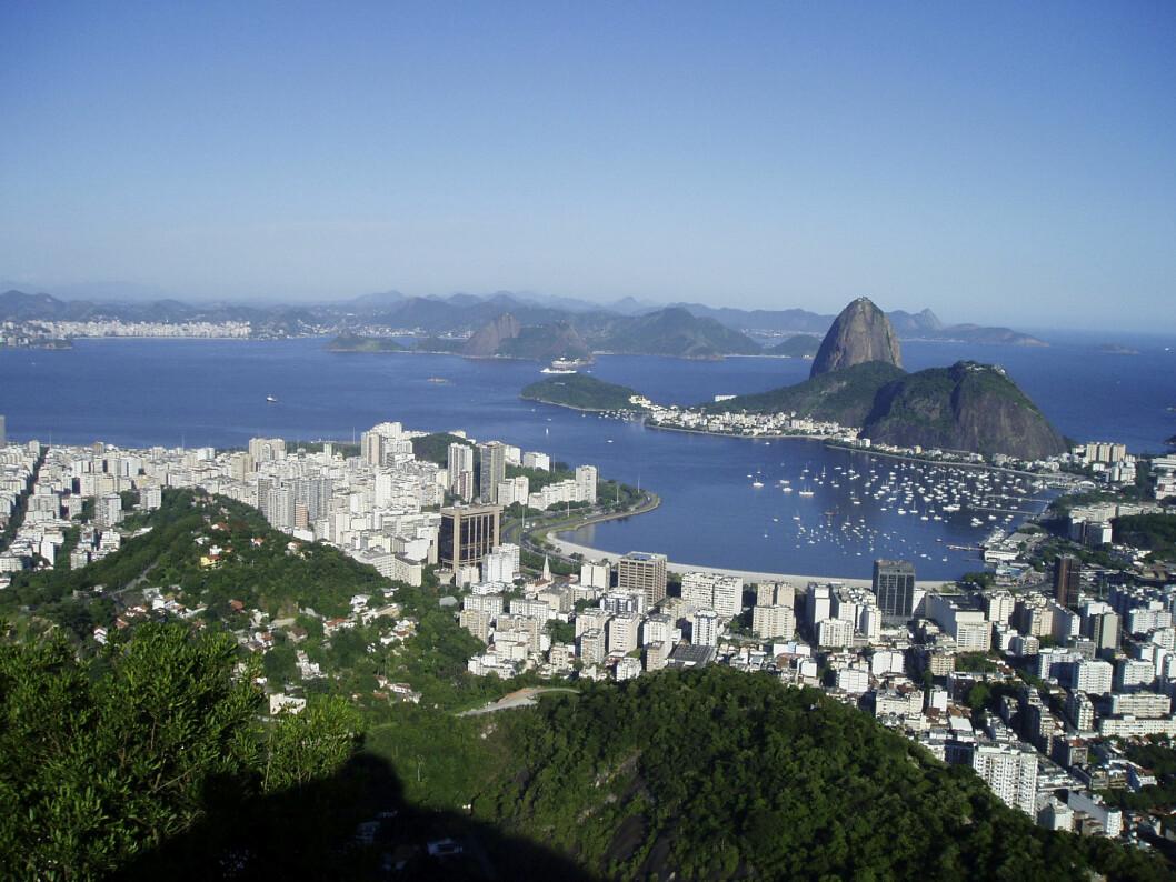 HAVNEN: Rett syd for OL-havnen ligger Iate Clube do Rio de Janeiro, yacht-klubben i Rio.