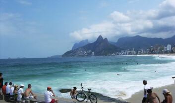 IPANEMA: Forhåpentlig blir kvaliteten på vannet bra i Rio de Janeiro når OL-deltagerne rykker inn.