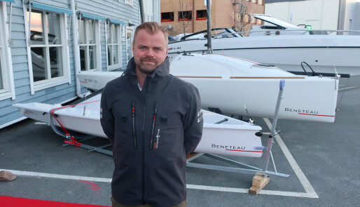 Små seilbåter på Storbåtmessen