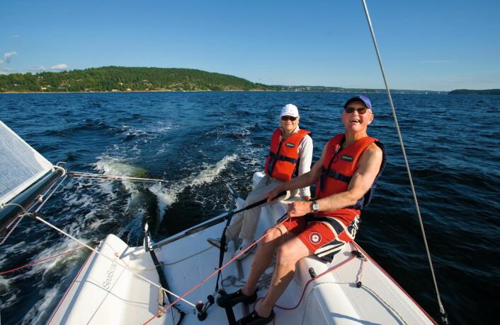 PENSJONISTER: Kika Lorange og Truls Krogsrud kjøpte Seascape 18 i 2012.
