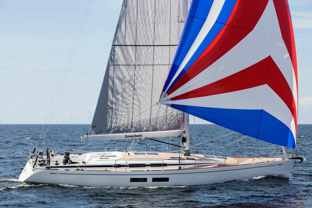 SEILER: Swan 54 er på vannet, og tar arven videre. Båten kan bli din for 10 millioner.