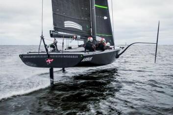 HI-TEC: Veien fra datasimulering til testing på vannet er svært rask. Det er en av grunnene til at Airbus sponser American Magic, utfordrerlaget til New York Yacht Club.