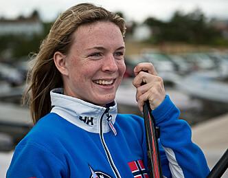 Caroline Rosmo leder etter første dag