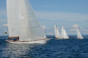 12mR: De klassiske meterbåtene preget Oslofjorden under Europa Uken i 2014. Nå er det Risørs tur.